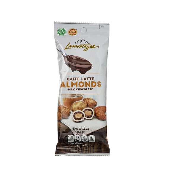 Almonds Covered With Late Chocolate