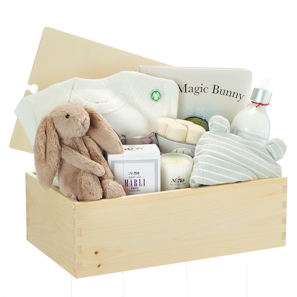 Gift Basket For New Mom And Baby