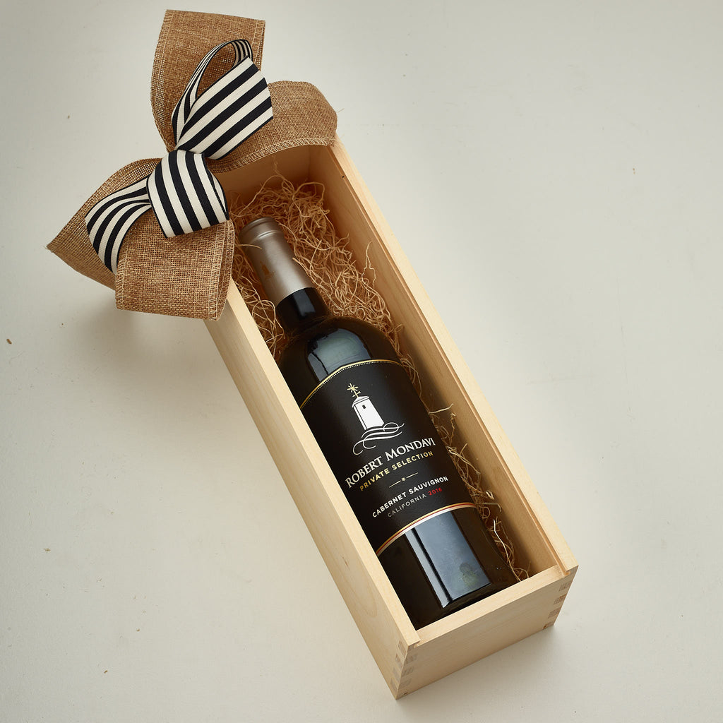 Premium Red Cabernet Wine in The Box Gift
