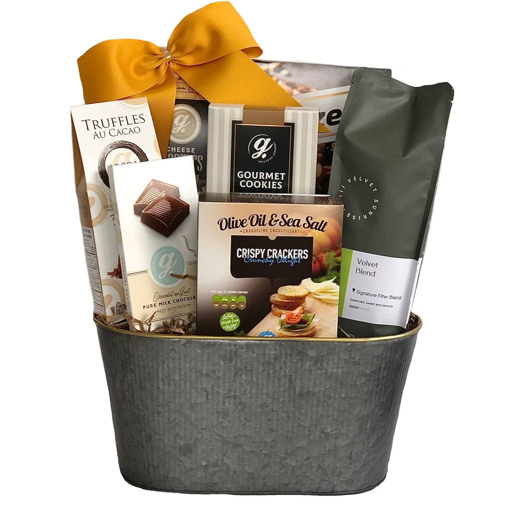 Premium coffee gift basket Toronto delivery