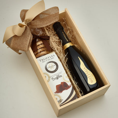Gift Box With Alcohol