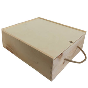 wooden wine box delivery
