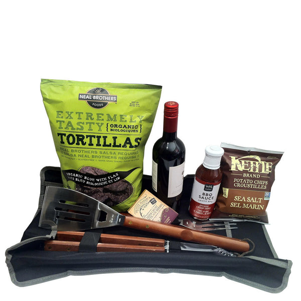 Wine and BBQ gift set