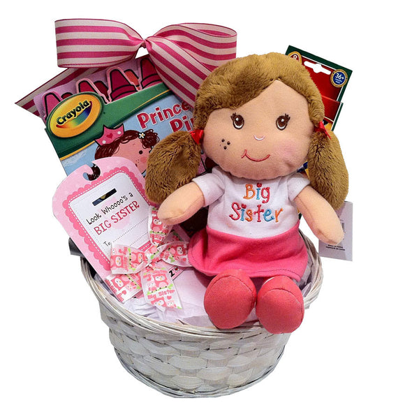 Big sister  kids gift baskets