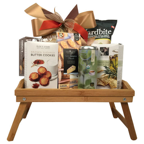 Breakfast try gift basket Canada