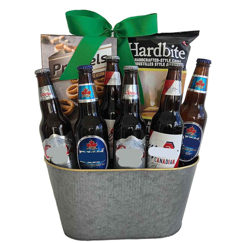 Canadian Beer Gift Baskets