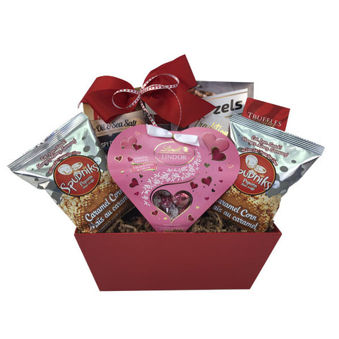 Valentine s Day Heart Gift Basket