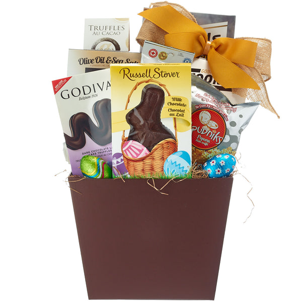 Easter Baskets With Chocolate