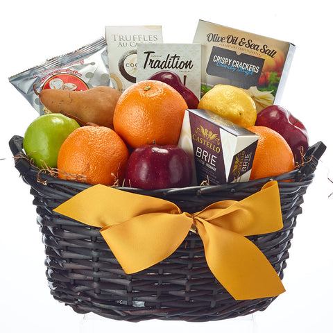 Fruit And Gourmet Condolences Gift