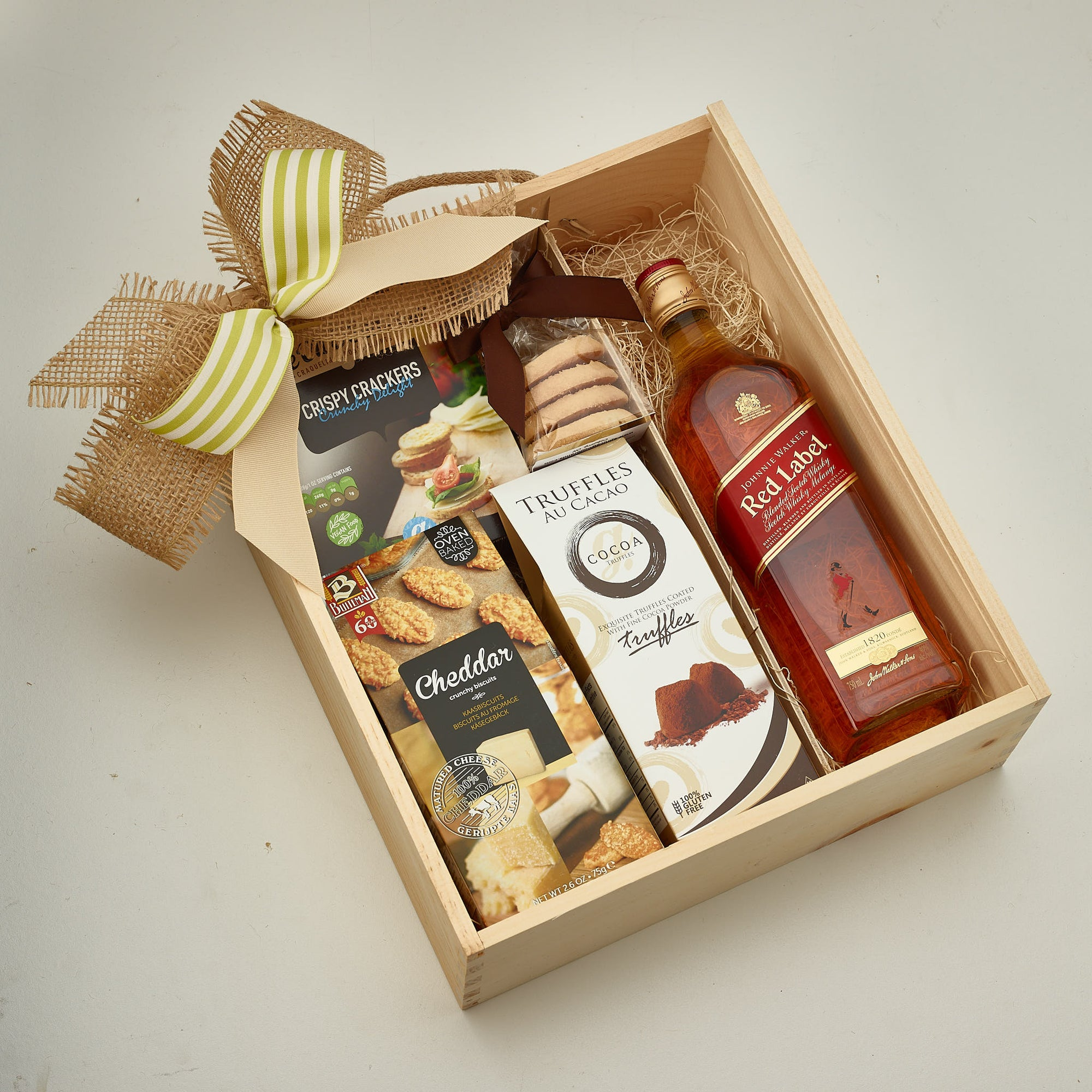 Johnnie Walker Whiskey Gift Basket Delivery