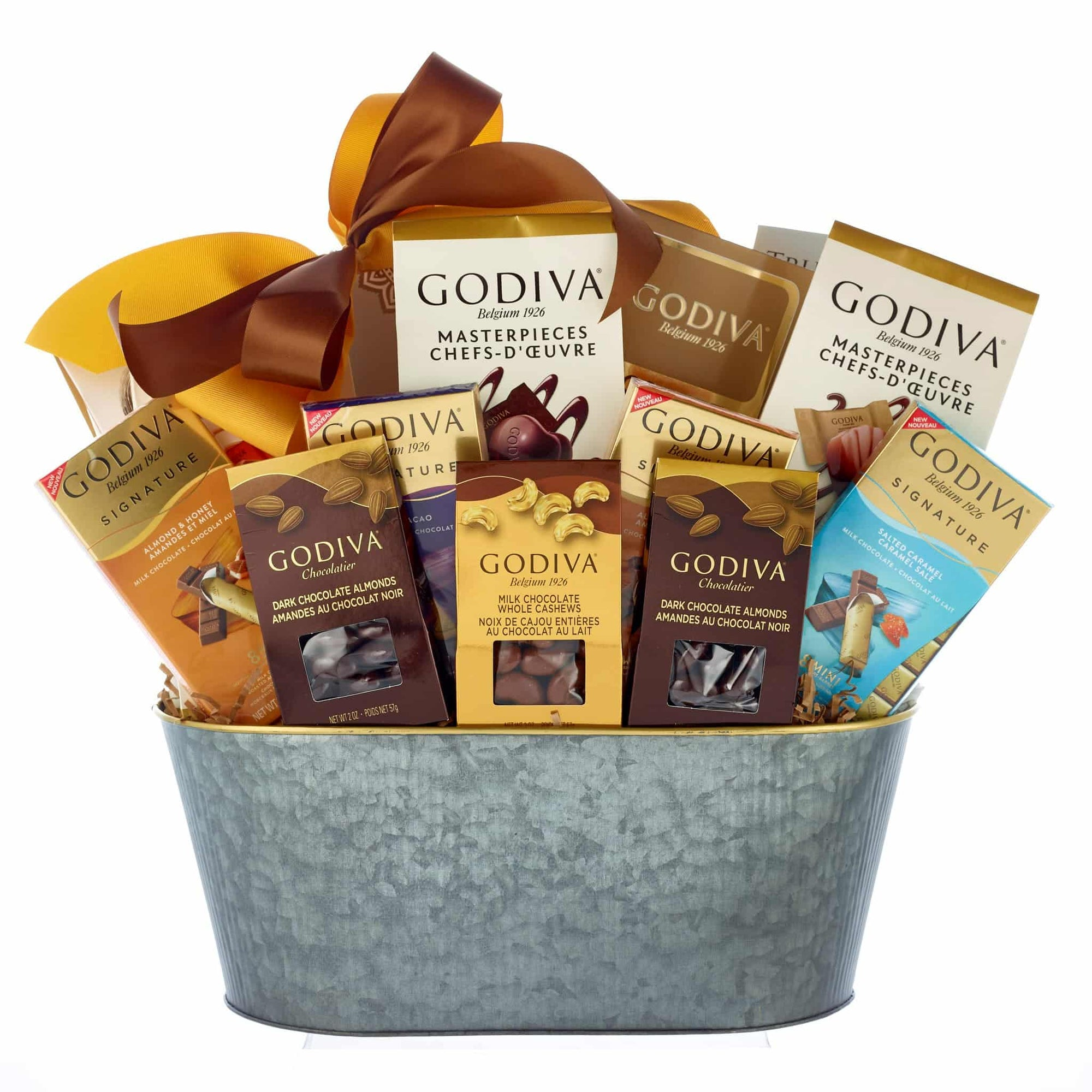 Premium Godiva chocolates for all occasions.