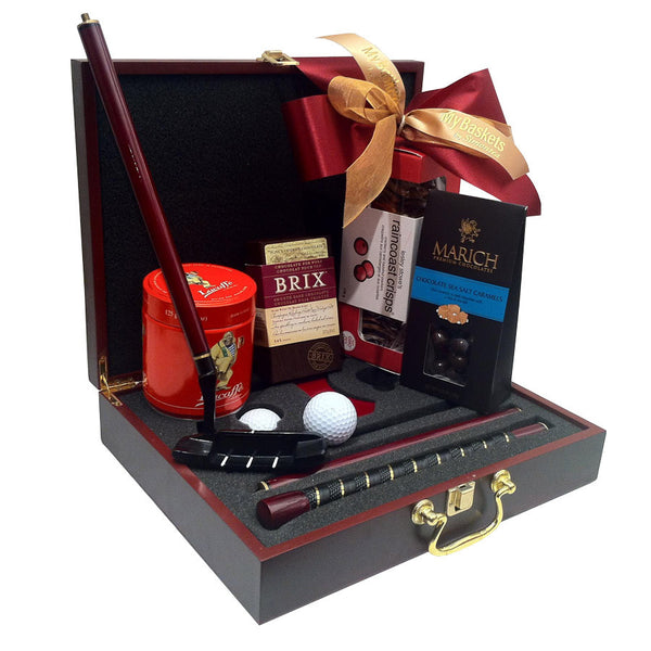 Executive Putter Golf Gift Basket SOLD OUT