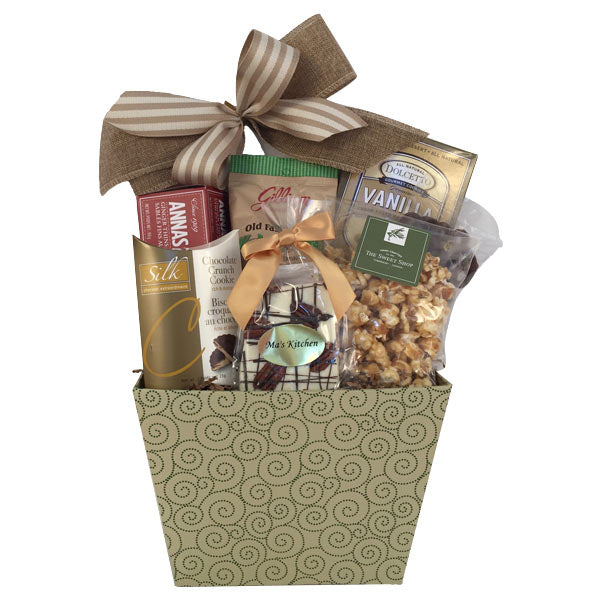 Sweet trat gift basket