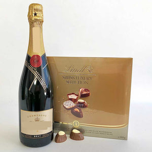 Champagne and truffle delivery