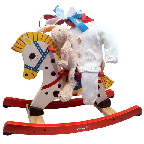 Rocking horse for baby boy or girl
