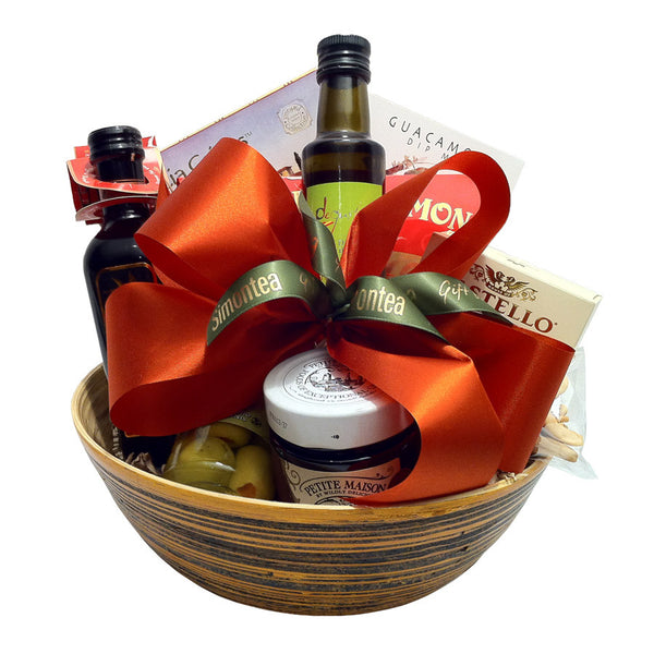 Salad bowl gourmet gift baskets