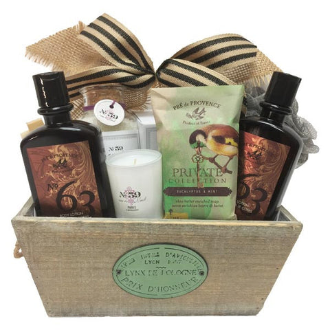 Spa Gift Baskets Canada Free Delivery