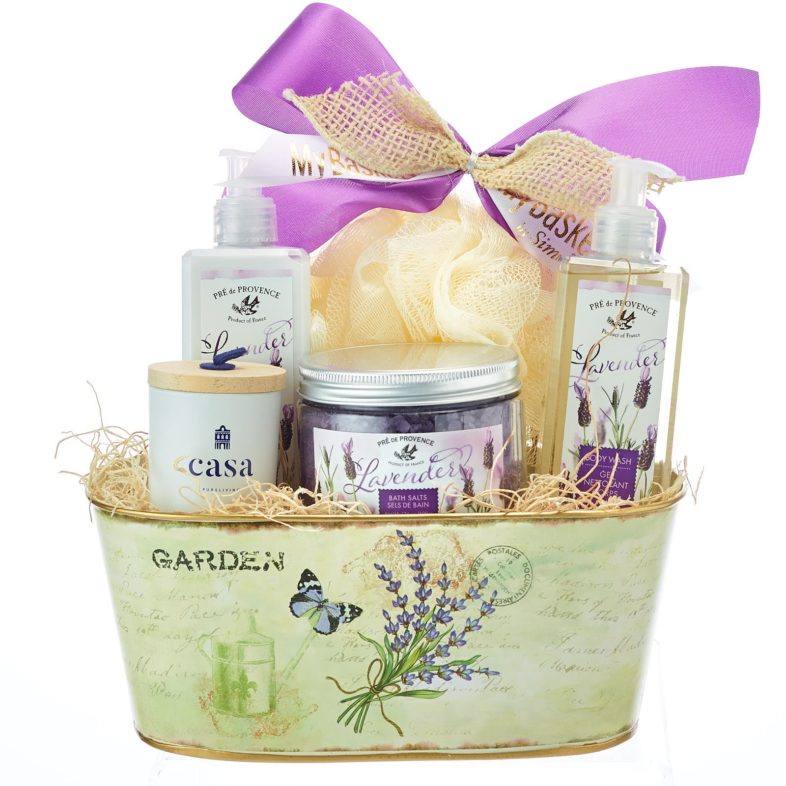 Spa Gift Baskets Ideas