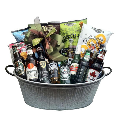 St Pat's Day Beer Gift Baskets