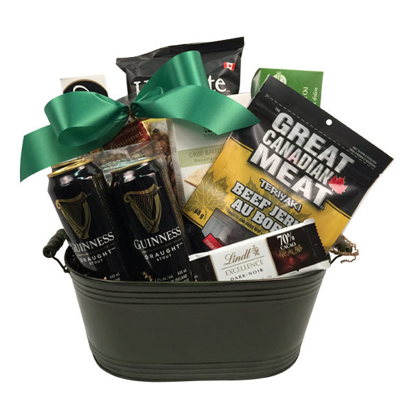 Kiss Me I'm Irish  St. Patrick's Day Gift Basket