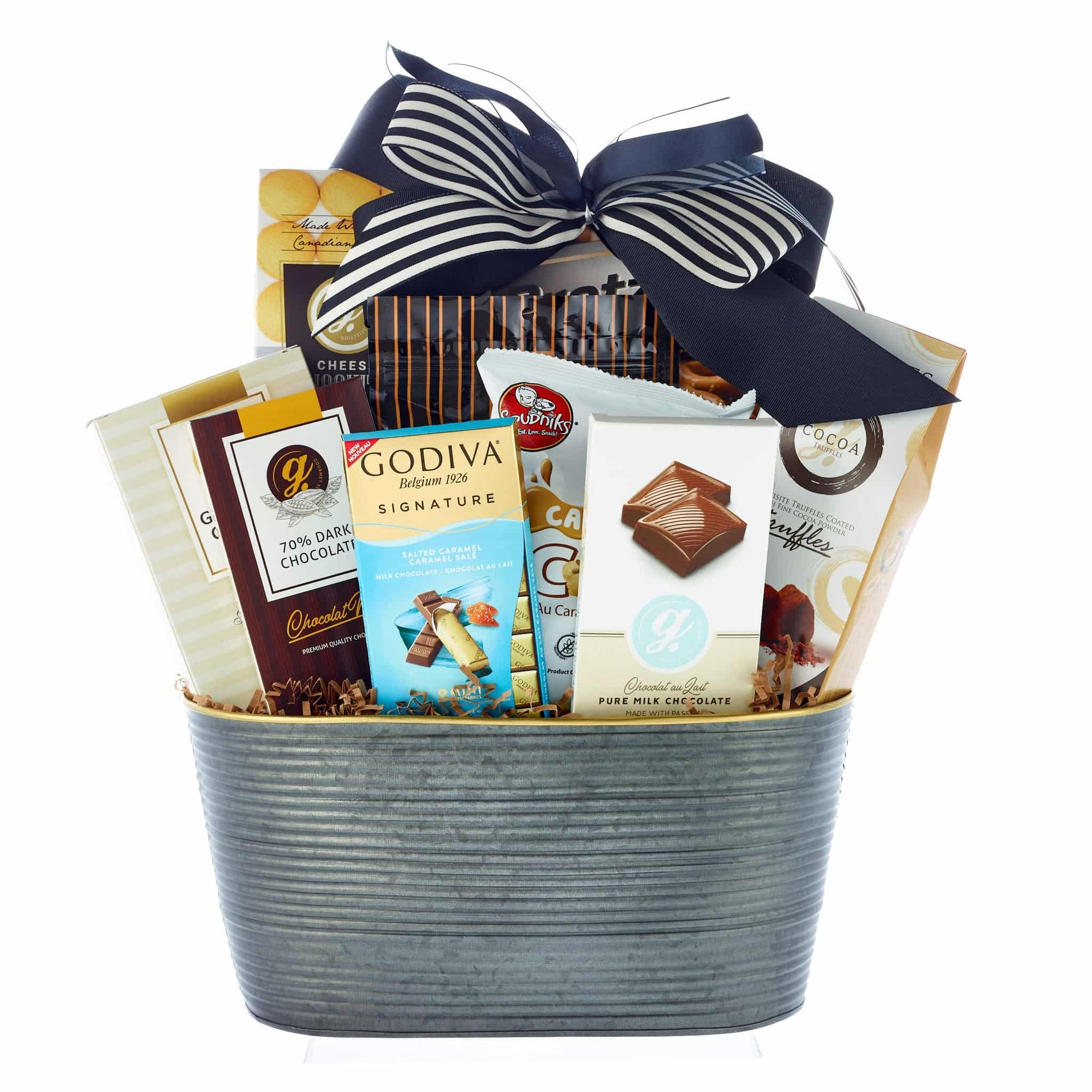 Sincerest sympathies gift basket