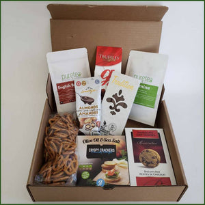 Tea care package box delivery