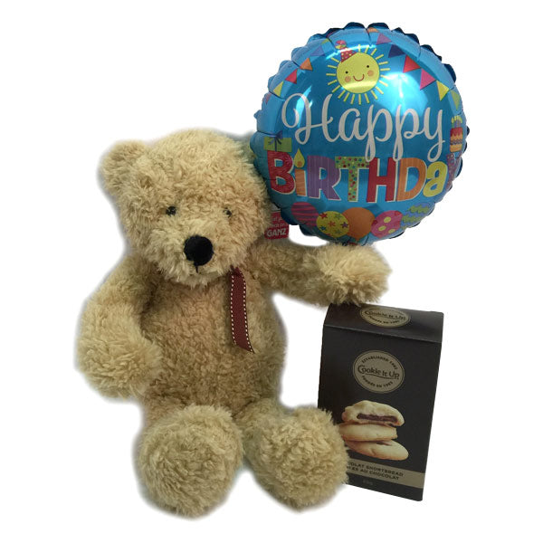 Teddy Bear Birthday Gift Basket