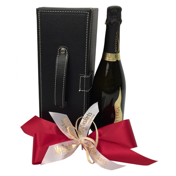 Champaign like sparkling wine gift basket