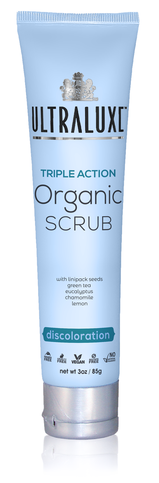 Triple Action Organic Scrub - Discoloration