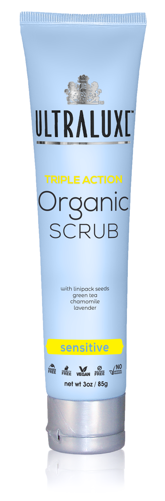 Triple Action Organic Scrub - Sensitive