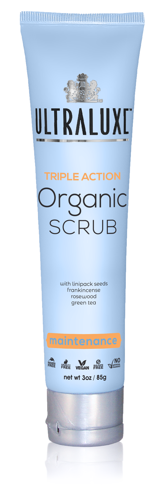 Triple Action Organic Scrub - Maintenance
