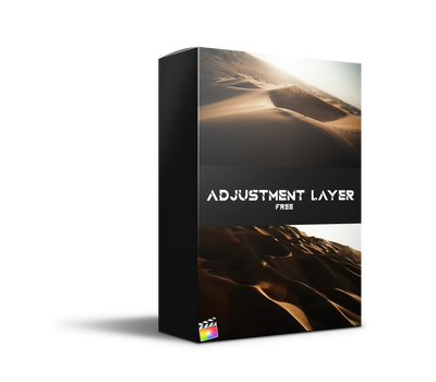 Free FCPX Adjustment Layer - FPV LUTs