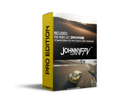 Johnny FPV LUTS Pro Edition Pack by Johnny FPV and Jake Irish @jakeirish_