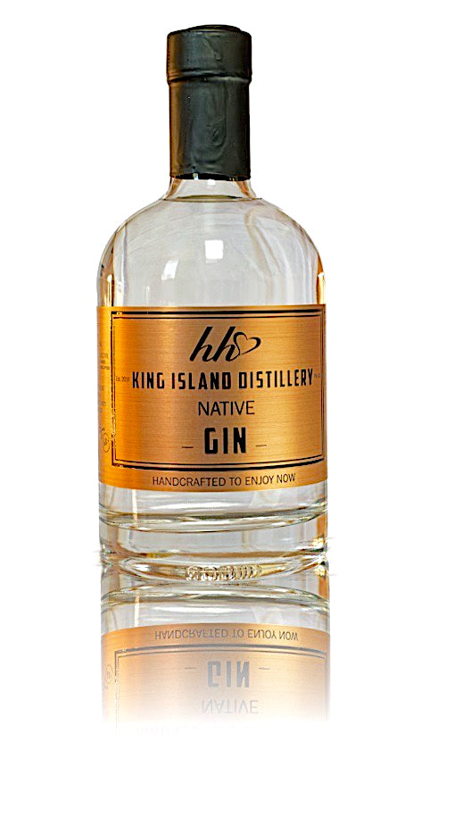 KING ISLAND DISTILLERY NATIVE GIN  TASMANIA