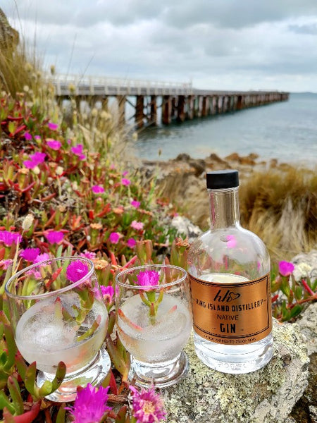 King Island Distillery Native Gin Tasmania Australian Gin 500ml Awards Silver Medal 2020