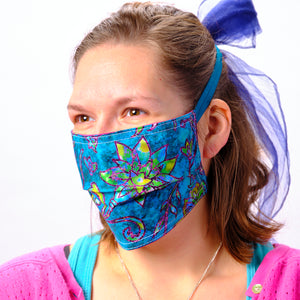 Stain Glass Face Mask
