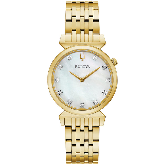 Ladies Bulova Regatta Diamond Watch E31997P149