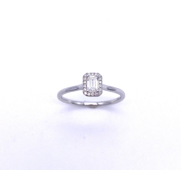 Coast Diamond Emerald Cut Diamond Engagement Ring A038LC10531