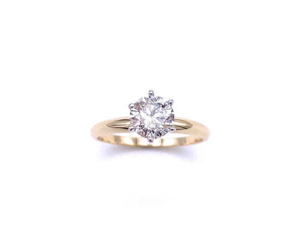 Diamond Engagement Ring A025DR100B