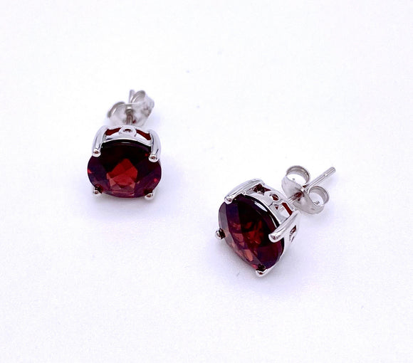 Garnet Post Earrings F330B337357