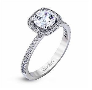 Simon G Halo Engagement Ring A946MR1842A