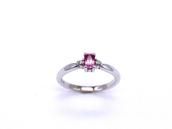 Oval Pink Sapphire and Diamond Ring C3905392PSD