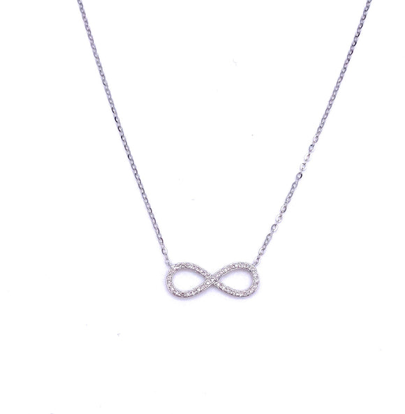 Diamond Infinity Necklace A401N1032