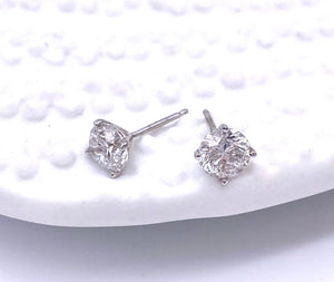 .50 Carat Total Weight Diamond Stud Earrings A025.50