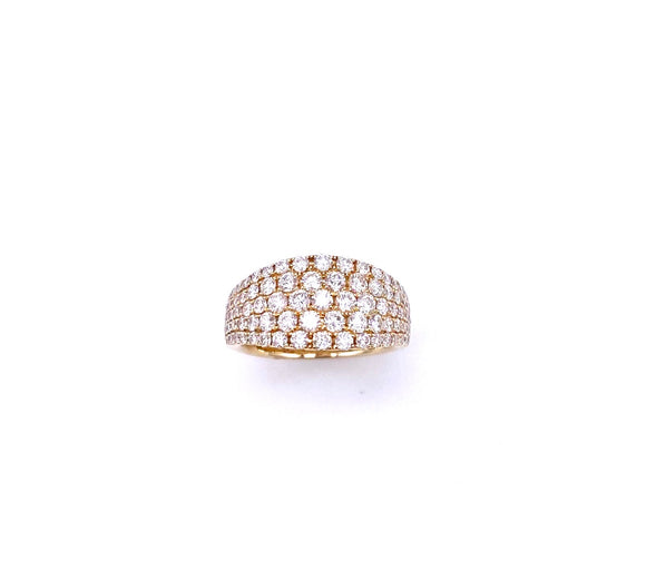 Yellow Gold Diamond Right Hand Ring A804RG04976G91790