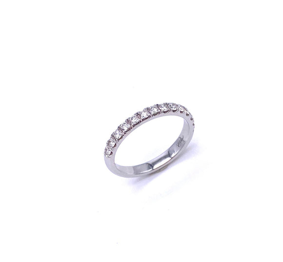 Diamond Band in White Gold A038WC5181H.50