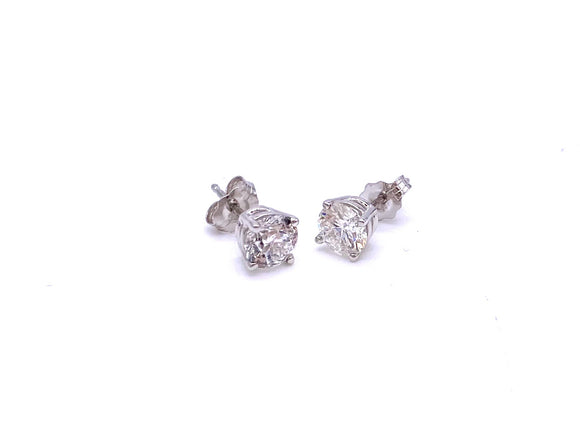 1.25 Carats Total Weight Diamond Stud Earrings A025BR5BW