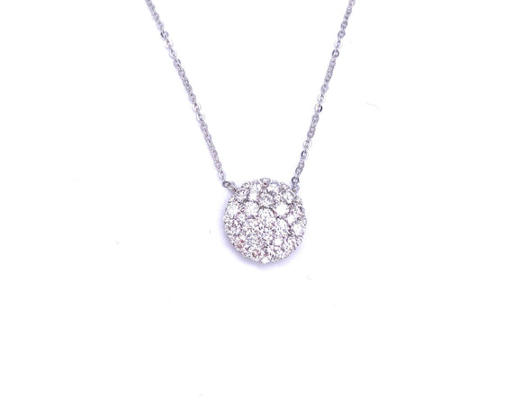 Brilliant Pave Diamond Necklace A401N02187RDW