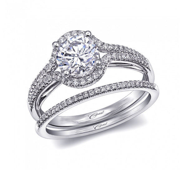 Coast Diamond Engagement Ring A038LC6005