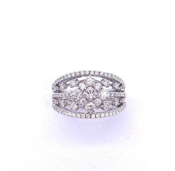 Intricately Designed Diamond Right Hand Ring by Cordova A00923016